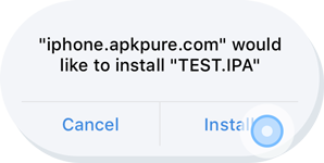 IPA Install Online without Jailbreak - Upload  IPA File (iOS App